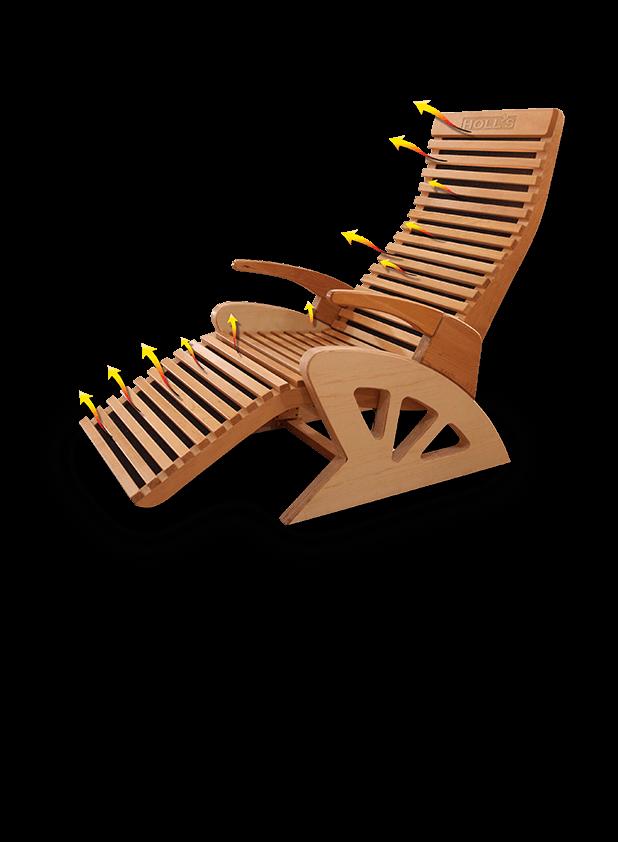 Alto Confort Plus - Le fauteuil de relaxation infrarouge | Holl\'s