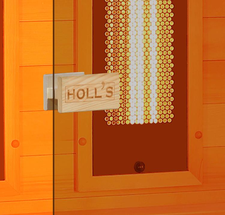 Porte en verre sécurisé 6mm
